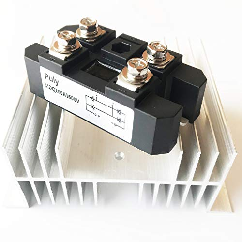 Puly Bridge Rectifier MDQ-100A 100A 1600V Full Wave diode Module one Phase with Radiator