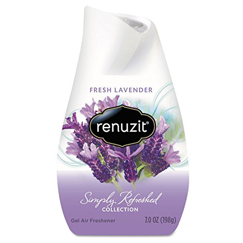 Renuzit 35001 Adjustables Air Freshener, Fresh Lavender, Solid, 7 oz