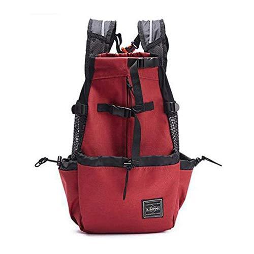 HELEN CURTAIN Taschen Nach Tiere von der Firma Rucksack Reisen Von Outdoor-Dog justierbar für das Trekkingrad Tragetasche für Hunde Reflecting Transport von Taschen,A
