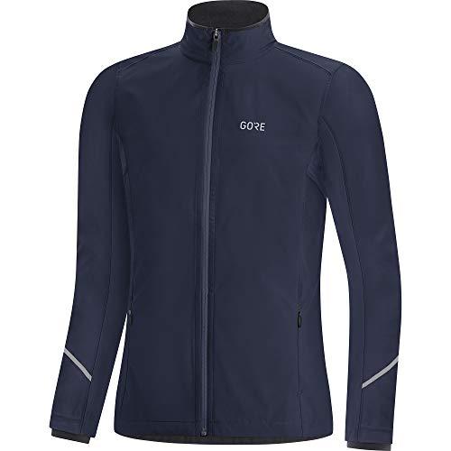GORE WEAR R3 Damen Jacke Partial GORE-TEX INFINIUM, 40, Marineblau