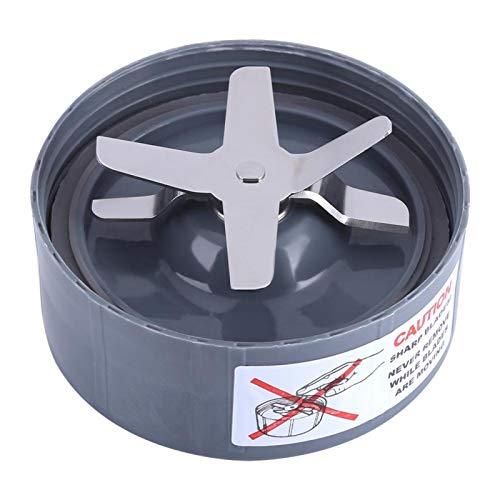Piezas de repuesto de la cuchilla extractora, 600/900 W, extractor cruzado de repuesto, base de cuchilla de acero inoxidable que se adapta a la licuadora(900W)