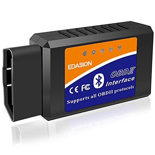 OBD2 Bluetooth Scanner Code Reader Reset for Android Windows, Auto Car...