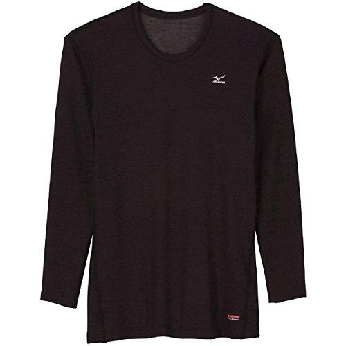MIZUNO(ミズノ)『ブレスサーモ ミドルウエイト クルーネック長袖シャツ(A2JA5509)』