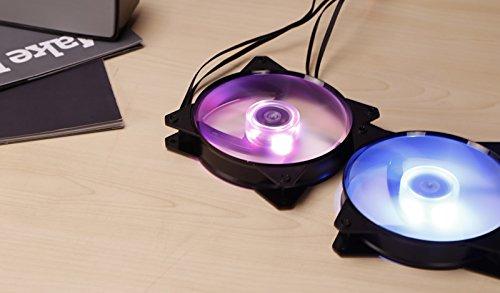 Cooler Master MasterFan MF121L RGB Gehäuselüfter 'RGB LED, Silent Cooling Technology, 120mm' R4-C1DS-12FC-R2