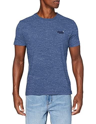 Superdry OL Vintage EMB tee Camiseta, Ojo Azul de Marea, X-Large para Hombre