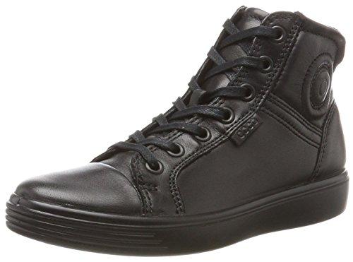 ECCO Unisex S7 Teen Hohe Sneaker, Schwarz (Black/Black), 37 EU