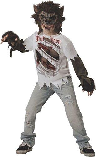 Generique - Werwolf Kostüm für Kinder 140/146 (10-12 Jahre)
