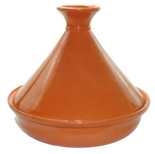 Le Souk Ceramique Cookable Tagine, Natural Clear Glaze