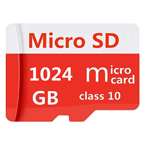 Micro SD Card 1TB, Micro SD SDXC Card High Speed Class 10 Memory Card for Phone, Tablet and PCs with Adapter