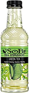 SOBE Elixir, Green Tea, 20 fl oz. bottles (12 Pack)