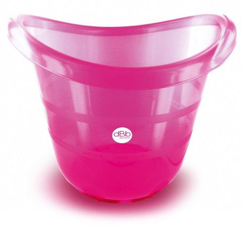 dBb Remond - Bañera para recién nacidos rosa