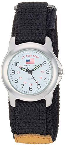 U.S. Polo Assn. Boy's Analog Japanese Quartz Watch with Nylon Strap...
