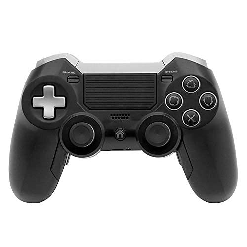 LIU Controller PS4, Controller Wireless per PS 4, con Presa a Cuffia a Cuffia a Doppia Vibrazione/Stereo/Touch Pad/a Sei Assi, Controllo del Movimento, Compatibile con Console PS4 / PRO