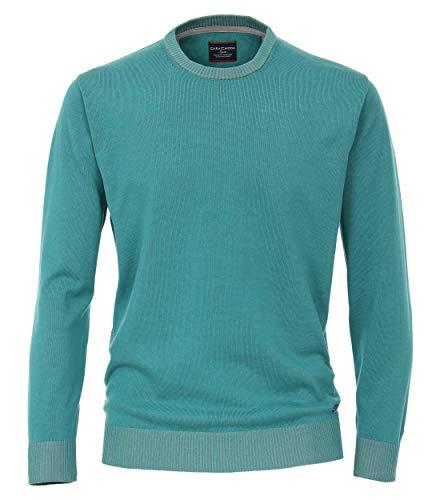 CASAMODA Herren Pullover Uni Aquamarine XXL