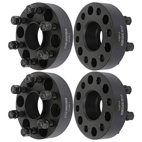 ANGLEWIDE 6x120 Hubcentric Wheel Spacers 6 Lug 6x120mm to 6x120mm 14x1.5 Studs fits for Chevrolet Colorado Traverse for GMC Canyon