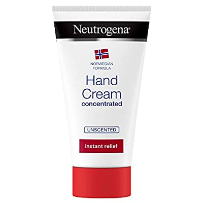 Neutrogena Norwegian Formula Hand Cream Concentrated Unscented 75 ml Immediate and Lasting Relief, 300 Applications by Johnson Johnson