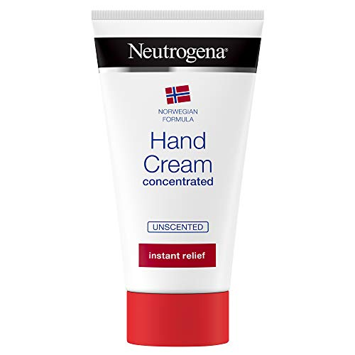Neutrogena Norwegian Formula Hand Cream Concentrated Unscented 75 ml Immediate and Lasting Relief, 300 Applications