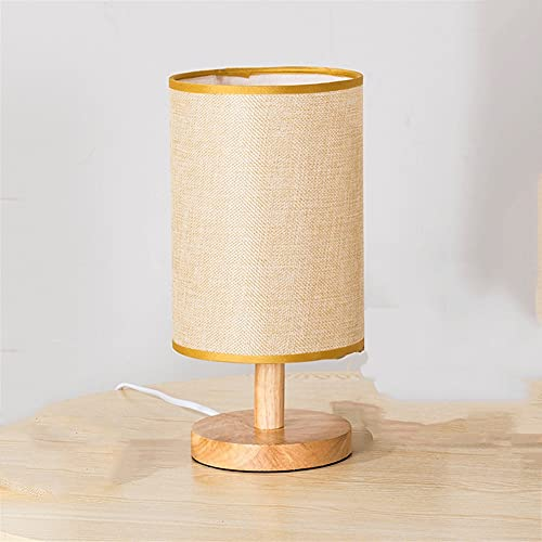 WLMT EU/EE.UU. / Reino Unido Enchufe Simple lámpara de Mesa Dormitorio Estudio Lámpara de Noche Lámpara de Cama Sólido Madera Cumpleaños Cumpleaños Cumpleaños Noche Decoración