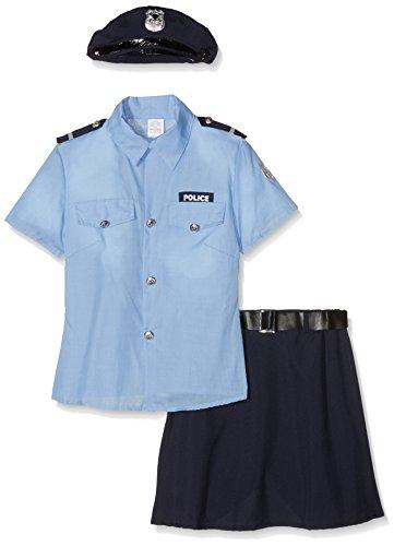 Widmann WDM04011 Kostüm für Erwachsene, Polizistin, Größe S, Mehrfarbig