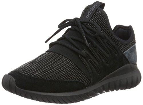 adidas Tubular Radial, Scarpe Running Uomo, Nero (Core Black/Dark Grey), 46 EU