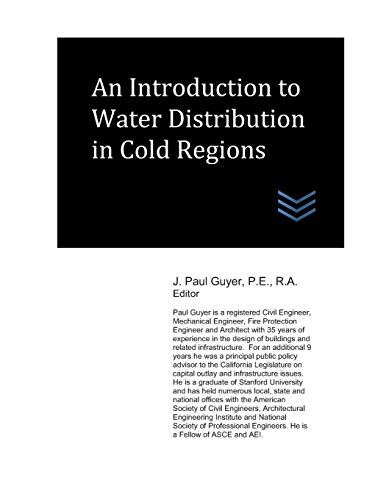 An Introduction to Water Distribution in Cold Regions