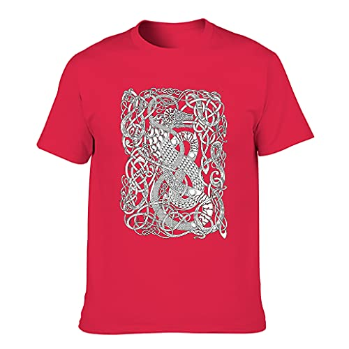 XunYun Nordic Dragon - Camiseta unisex para hombre y mujer, varios tipos