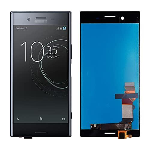SwarKing Pantalla LCD compatible con Xperia Sony XZ Premium Touch Screen Digitizer (negro sin marco) Piezas de repuesto con herramientas gratuitas