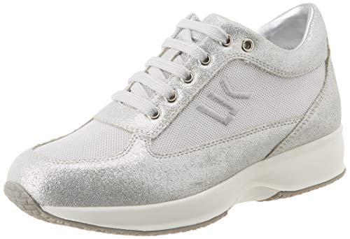 Lumberjack Raul 5, Sneaker Donna, Argento (Silver Co002), 38 EU
