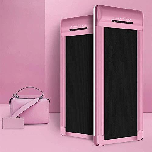 tapis roulant rosa Tapis roulant Piatto per Uso Domestico Piccola Attrezzatura per Il Fitness Mini Tapis roulant Elettrico Multifunzione Pieghevole Rosa-Rosa Iteration