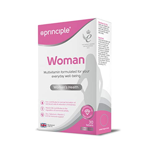 Principle Woman | Woman's Multivitamin 30 Tablets | One a Day | Contains...