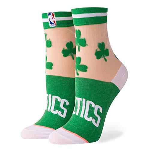 Stance Women's Celtics Anklet Socks,One Size,Green