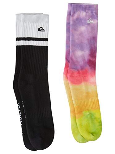 Quiksilver Tie Dye - Crew Socks for Men - Crew Socken - Männer - 10-13 - Gelb