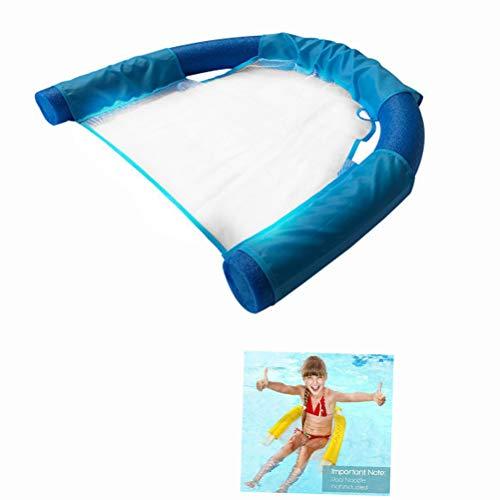 Jackallo Schwimmender Schwimmstuhl für Wassernetz Pool Nudelstuhl U-Sitz Schwimmbad Schwimmbad Schwimmbad Nudelschwimmer für Pool Schwimmbad Schwimmbecken für Kinder Erwachsene