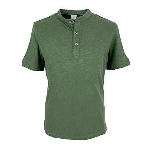 BUGATTI T-Shirt mit Serafino Art.75021, Grün XXL