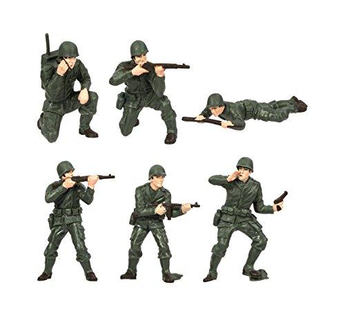 Safari Designer Plastic Miniatures In Toobs-Army Men