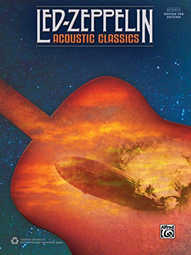 Led Zeppelin -- Acoustic Classics: Authentic Guitar TAB