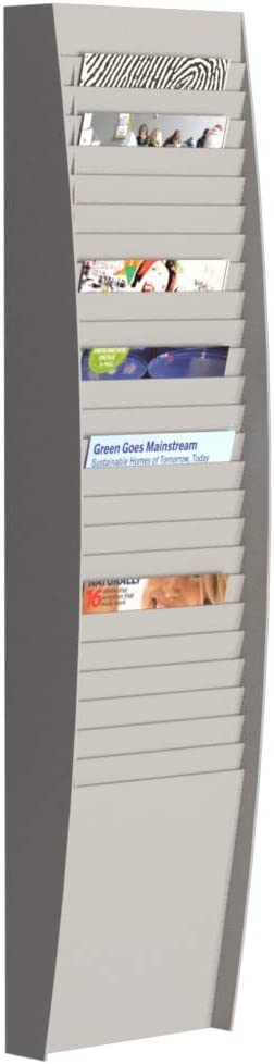 Fast Paper A4 Document Control Panel Compartments Indianapolis Popular brand Mall - 25 Grey with