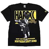 (ハードコアチョコレート) HARDCORE CHOCOLATE バーチャファイター・ジャッキー (ノーザンライトボムイエロー)(SS:TEE)(T-1096-BK) Tシャツ 半袖 カットソー ゲーム SEGA セガ 国内正規品 XXL ブラック