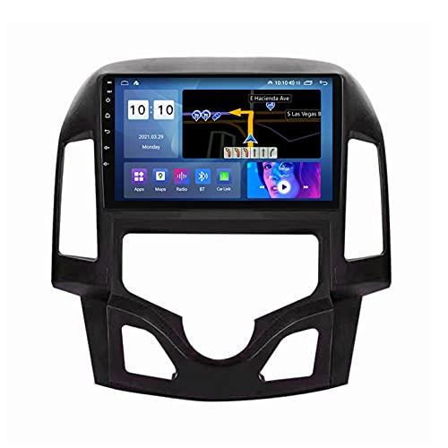 ADMLZQQ Android 10.0 In-Dash Radio Coche Estéreo Automóvil para Hyundai I30 2007-2012, Pantalla Táctil 9 Pulgadas GPS Carplay Bluetooth FM Am DSP Cámara Trasera Control Volante,A,M300S 8Core 3+32G