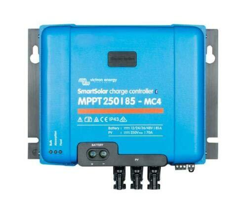Victron SmartSolar MPPT Solarladeregler 250/85 MC4 12V 24V 48V 250V PV Eingang 85A max.