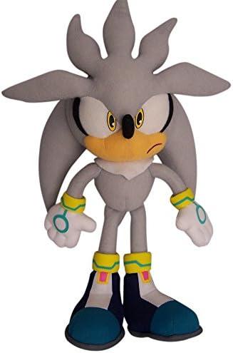 Sonic silver plush