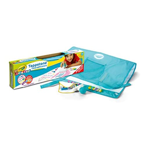 Crayola 04-0034 Colora e Ricolora - Tappetone, Maxi superficie riutilizzabile per disegnare e colorare