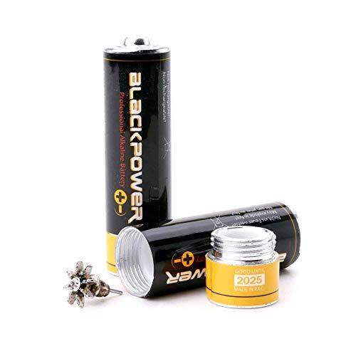 Mignon AA Attrappe Blackpower - Geld Versteck Batterie
