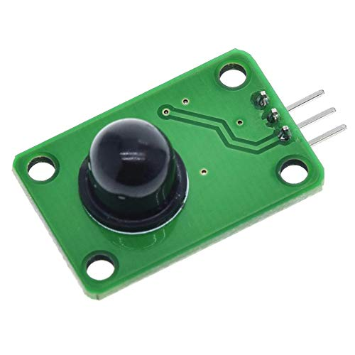 Un known Pyroelectric Infrared Sensor Human Body Detecting PIR Motion Sensor Module For Arduino MCU Board 120 Degree Accessory Removable Replacement