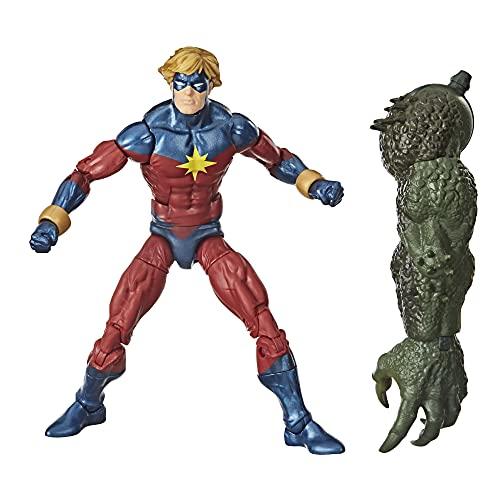 Hasbro Marvel Legends Series - Mar-Vell (Action Figure 15 cm da Collezione, Build-A-Figure Abomination)