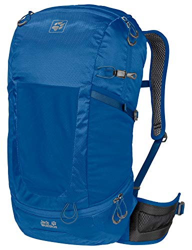 Jack Wolfskin Kingston 30 Pack Daypack Rucksack, Electric Blue, ONE Size
