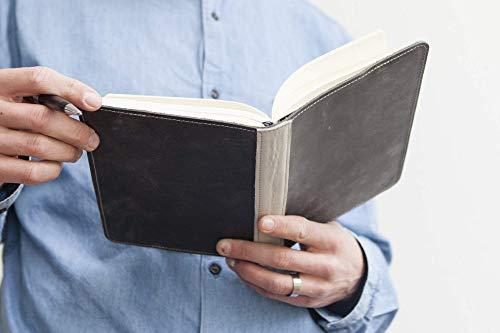 Bucheinband aus Leder, Notizbuch mit Lederhülle, Skizzenbuch, handmade in Germany, Geschenk für Sie und Ihn, personalisierbar