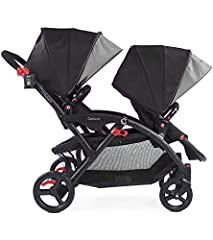 40 lbs. maximum child weight per seat; 80 lbs. total Dynamic front wheel suspension for the best ride over any surface