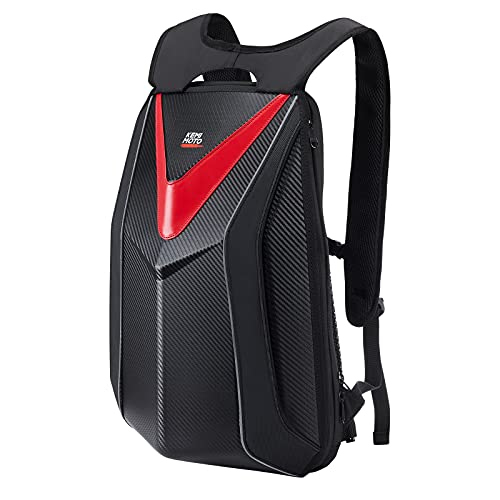 Kemimoto Motorcycle Backpack Hard Shell...