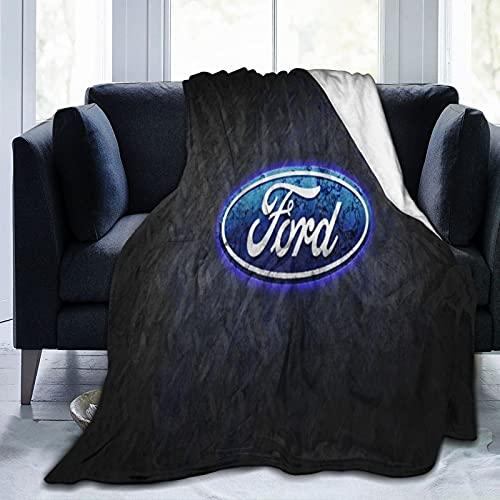 Manta infantil Ford de 127 x 152 cm para sofá o cama en todas las estaciones